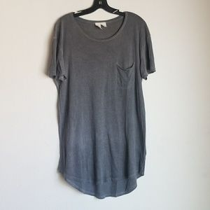 Urban outfitters burnout scoop neck tee